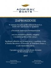 Spotkanie z Prezesem Andrzejem Bartoszewiczem